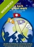 Die kerk se Groot Werk - werkboekies